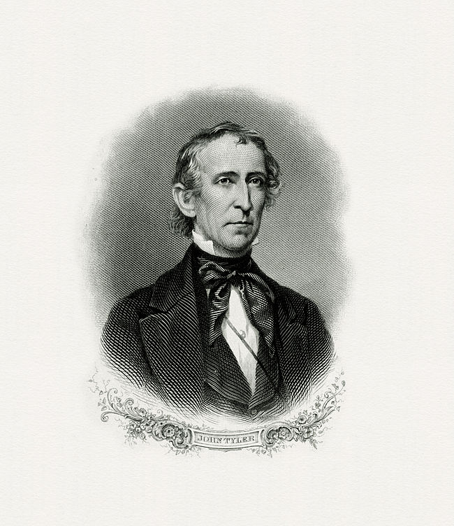 a biography of john tyler the 10th president of the united states