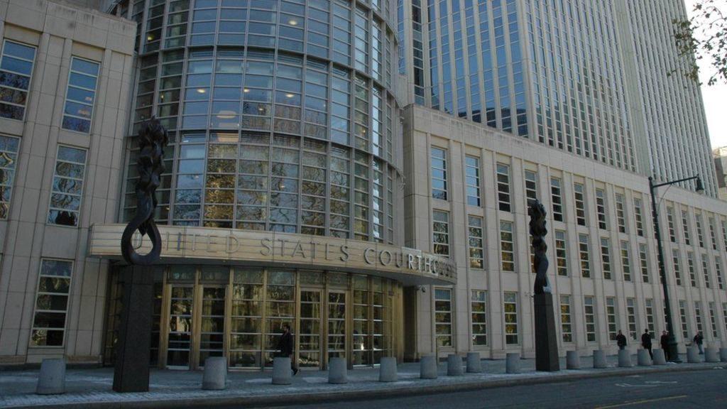 Бруклинский федеральный суд, где слушается новое дело. Фото В. Козловского
