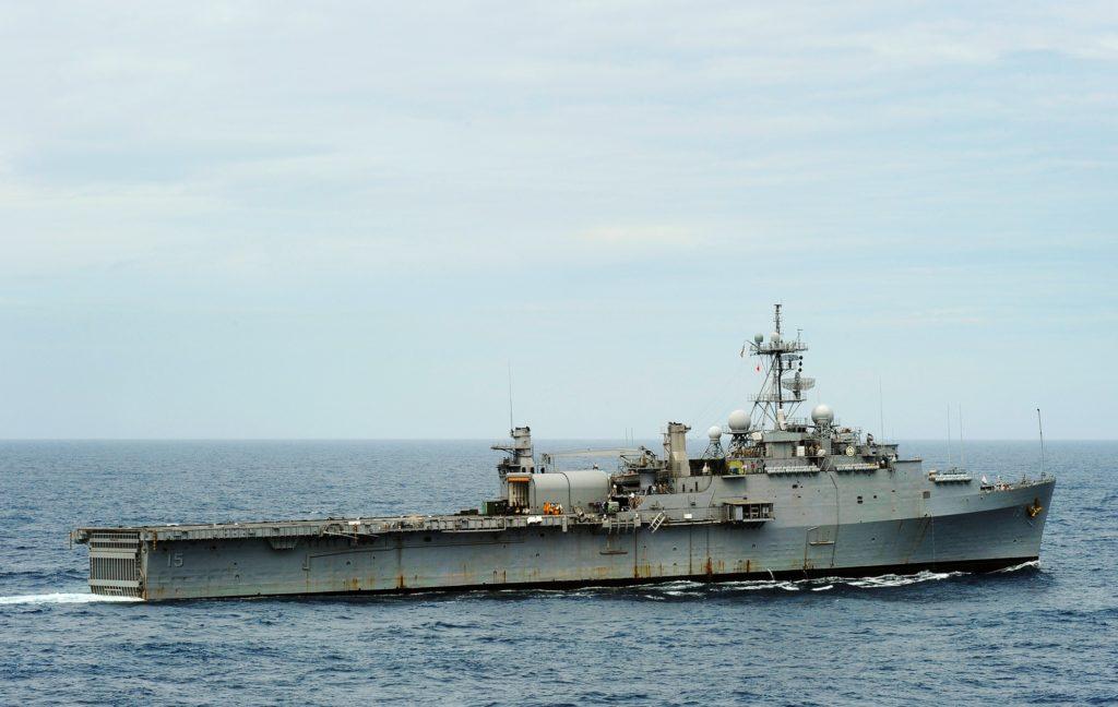 USS Ponce, десантный транспорт-док типа «Остин»