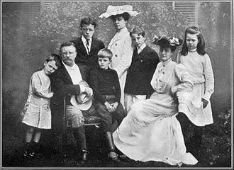 Семья Т. Рузвельта