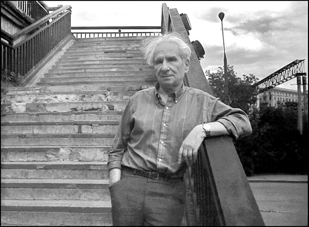 Александр Володин. Май 1990года. Фото Георгия Елина