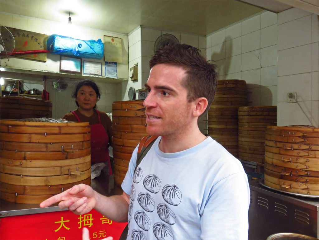 4. Kyle Long of UnTour Shanghai Food Tours