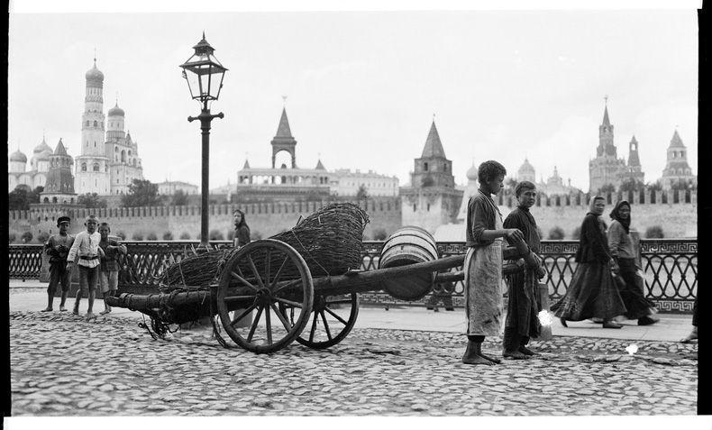 Вид на Кремль. Начало ХХ века