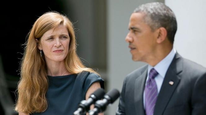 Сообщники. Барак Обама и Саманта Пауэр