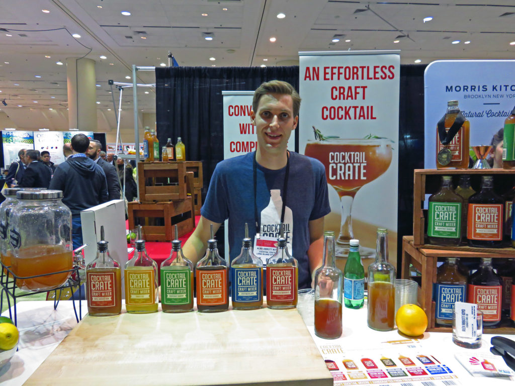 2. Cocktail Crate mixers