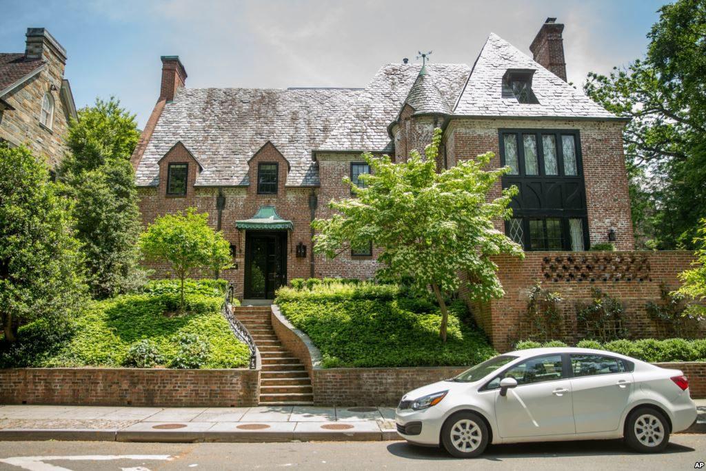 Резиденция Обамы в Вашингтоне
