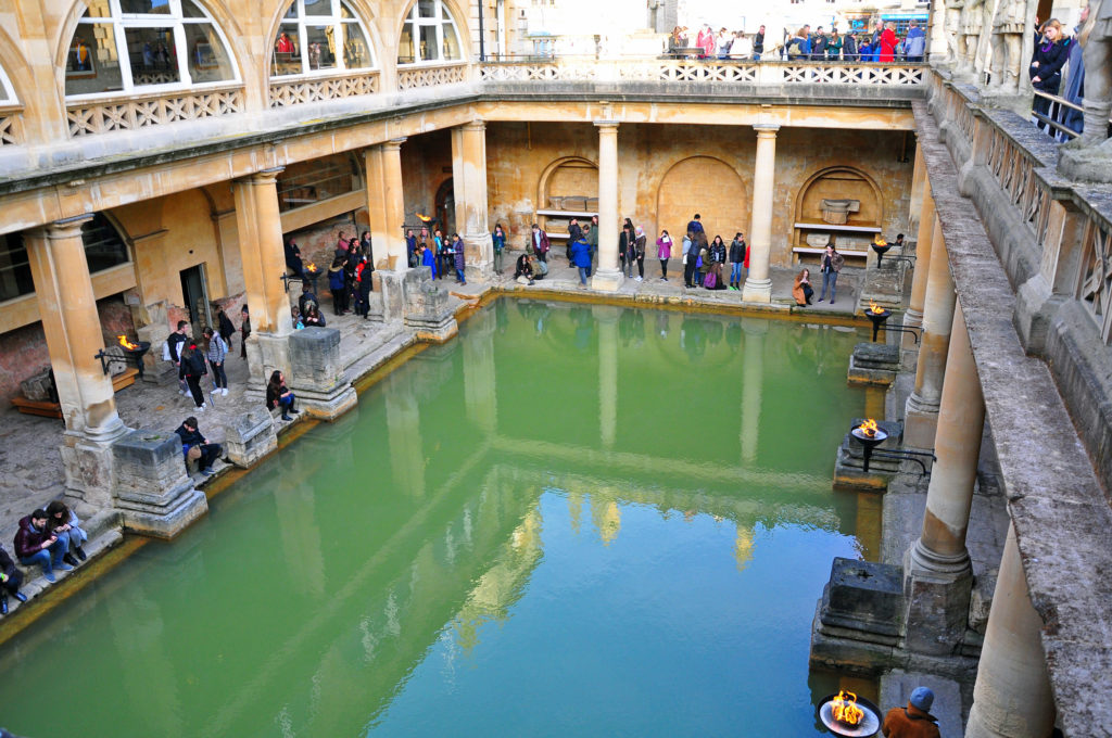 1. Roman Baths