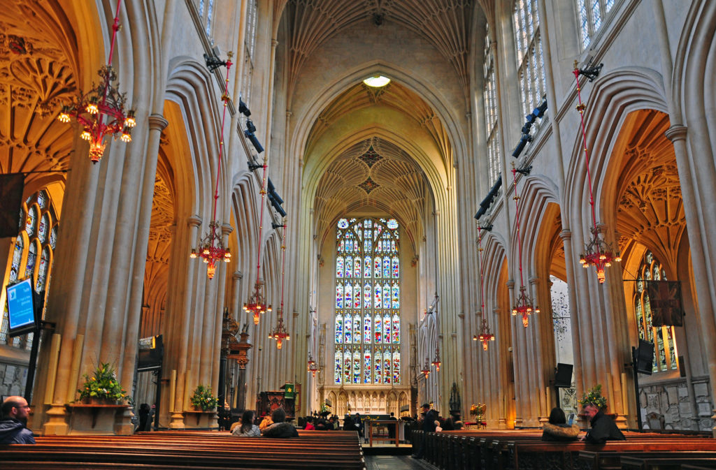2. Bath Abbey