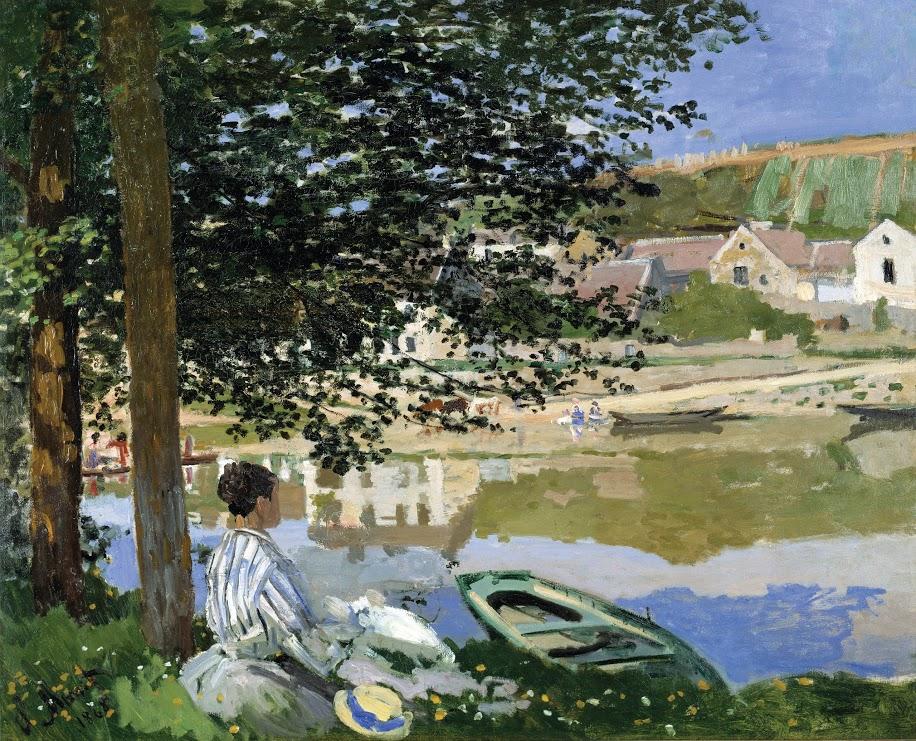 Monet_Banks of Seine