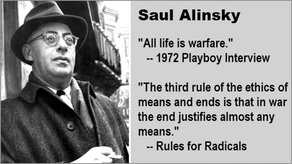 Саул Алинский, выдержка из книги «Правила для радикалов»