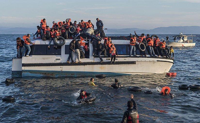 Мигранты из стран Ближнего Востока рвутся в Европу, преодолевая множество препятствий. А потом устривают беспорядки, подобные тем, что недавно потрясли Швецию...