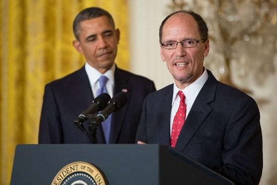 Том Перез и Барак Обама