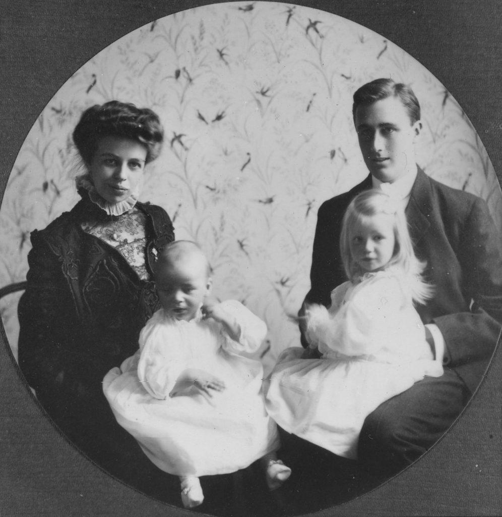 Супруги Рузвельт в 1908 г.