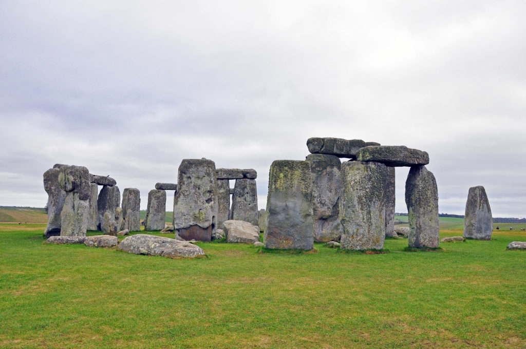 1. Stonehenge close up