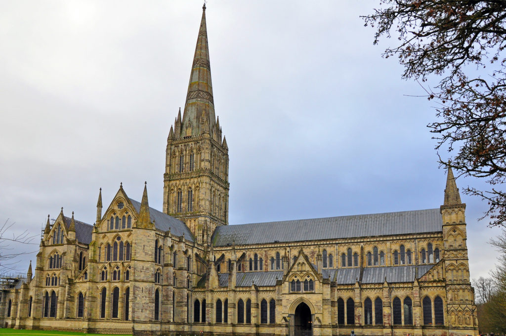 3. Salisbury Cathedral
