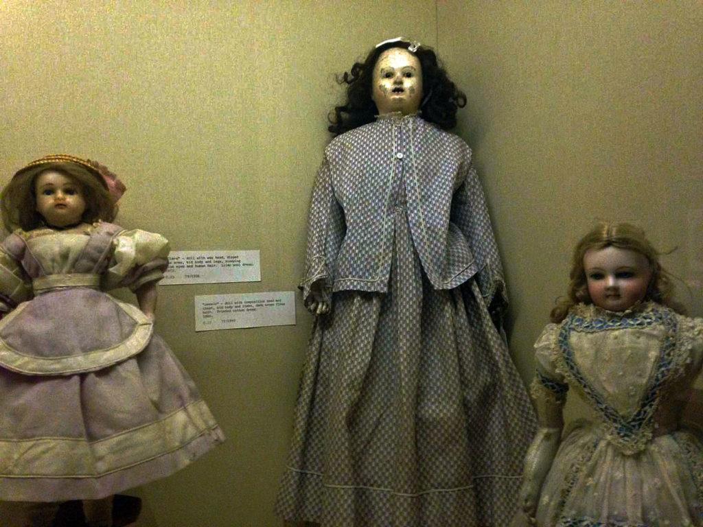 6. Salisbury Museum dolls