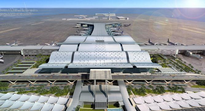 Аэропорт Хамад в городе Доха в Катаре