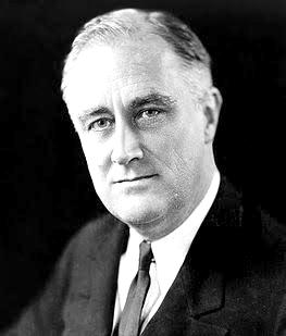 Президент США Франклин Д. Рузвельт
