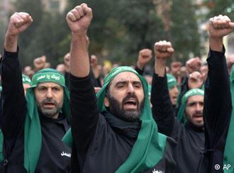 Боевики ХАМАСа