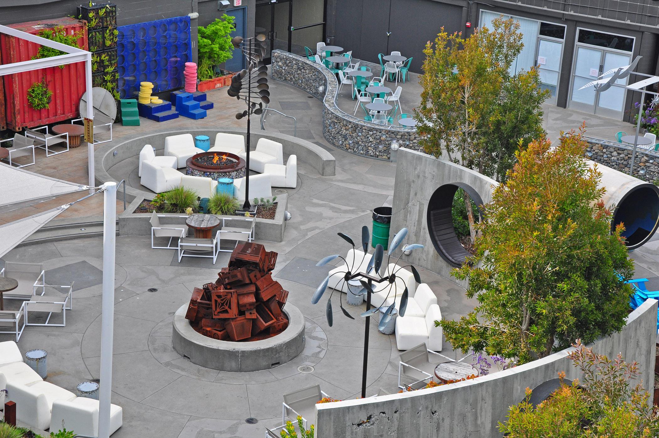 4. The Yard at Hotel Zephyr