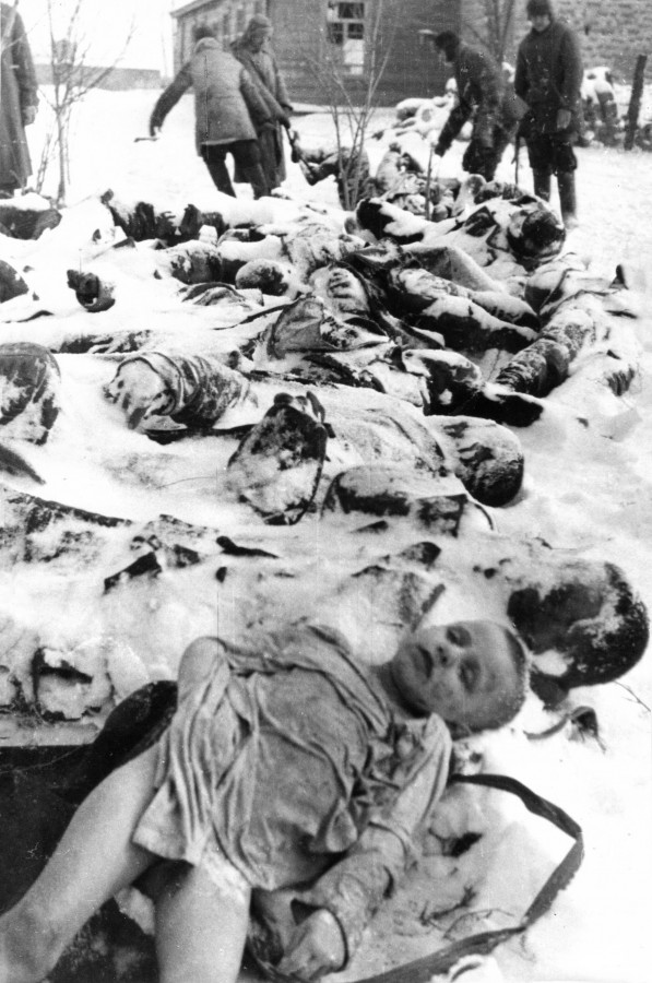 Керчь. Багеровский ров (январь 1942 г.)  Фото с сайта http://2w.su