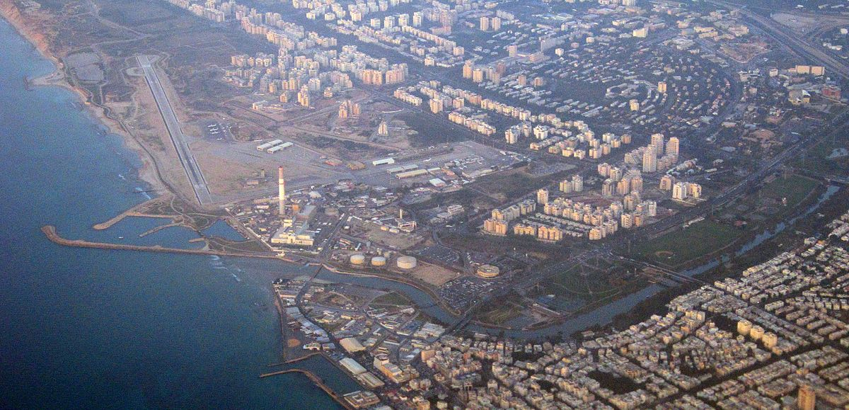 Аэродром Сдэ-Дов, вид сверху