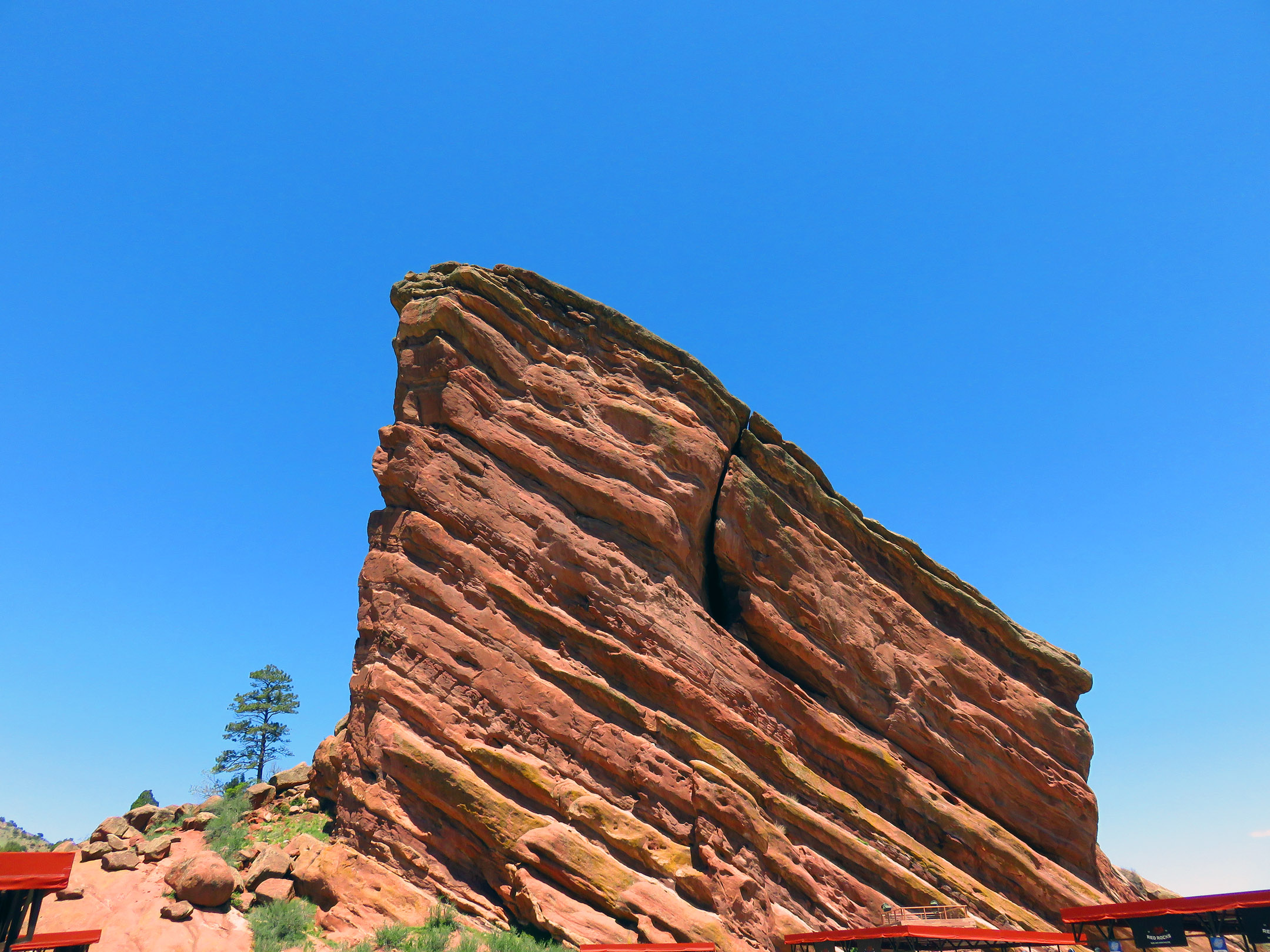 7. Red Rocks Amphitheatre