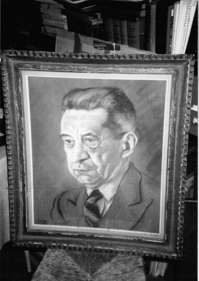 Портрет Керенского кисти Ирины Башкировой. Из собрания А. Рабиновича.
