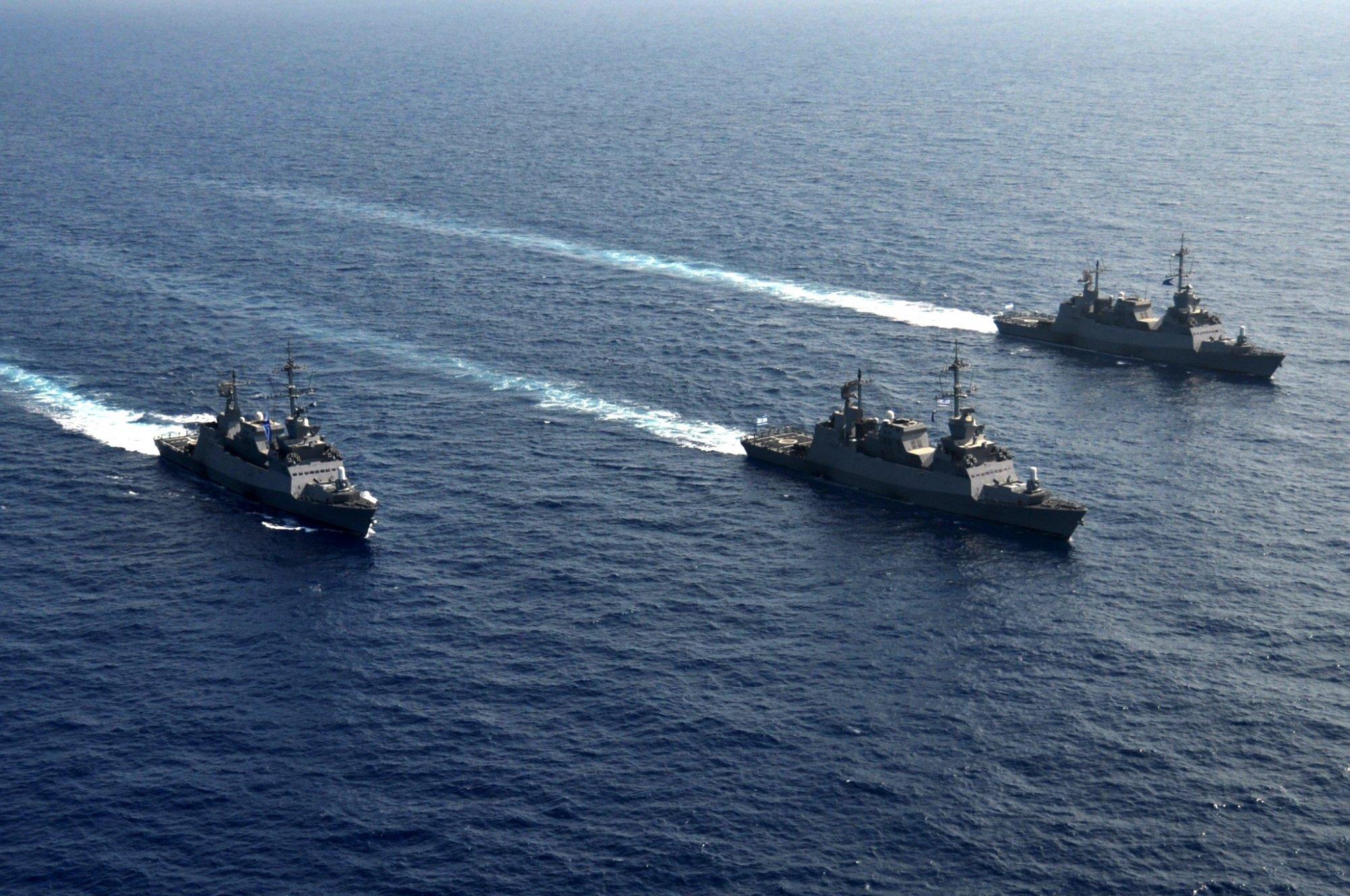 Корветы «Саар-6» израильского ВМФ