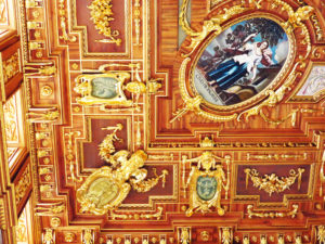 6. Augsburg City Hall ceiling detail