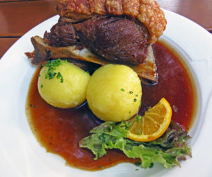 7. Traditional German food