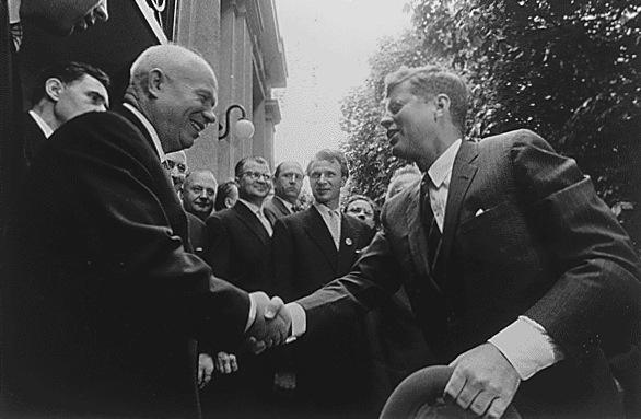 Джон Кеннеди и Никита Хрущев