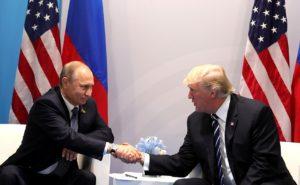 За официальной встречей лидеров двух стран, запечатленной на этом снимке, последовала неофициальная...