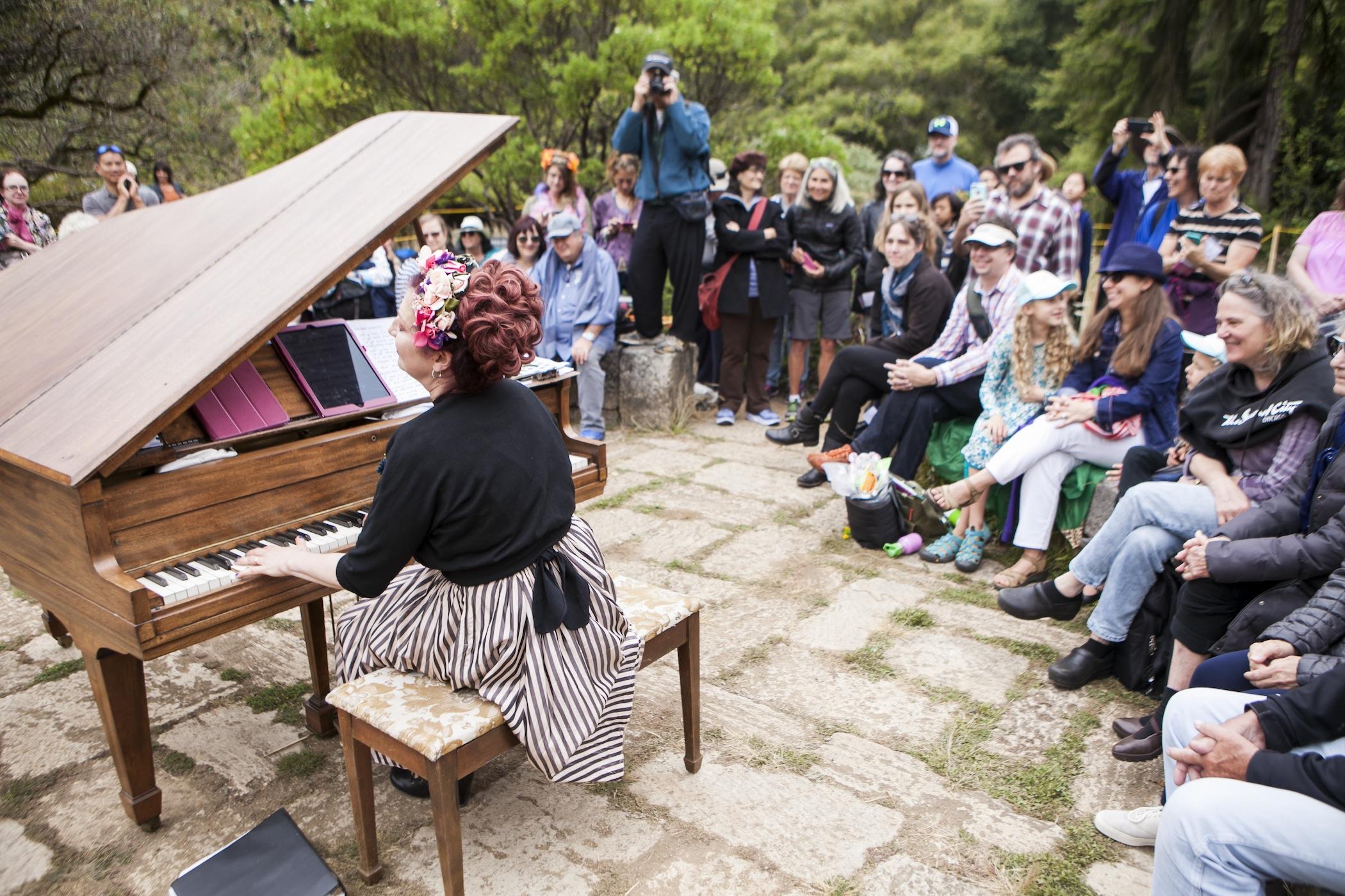 flower pianos