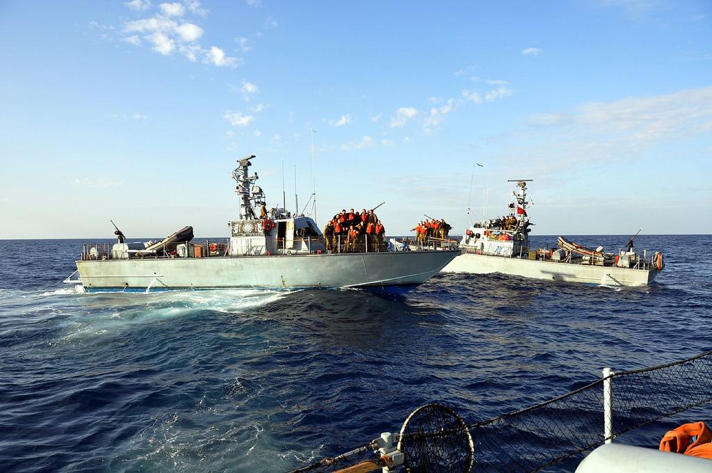 Израильские патрульные катера
