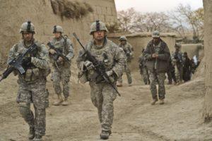 Американские военнослужащие в Афганистане