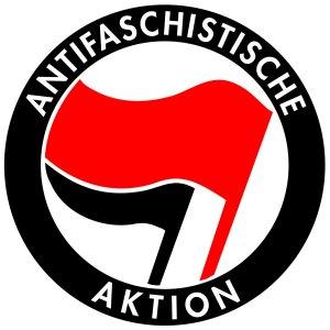 Эмблема движения «Антифа»