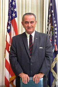 Президент Линдон Б. Джонсон