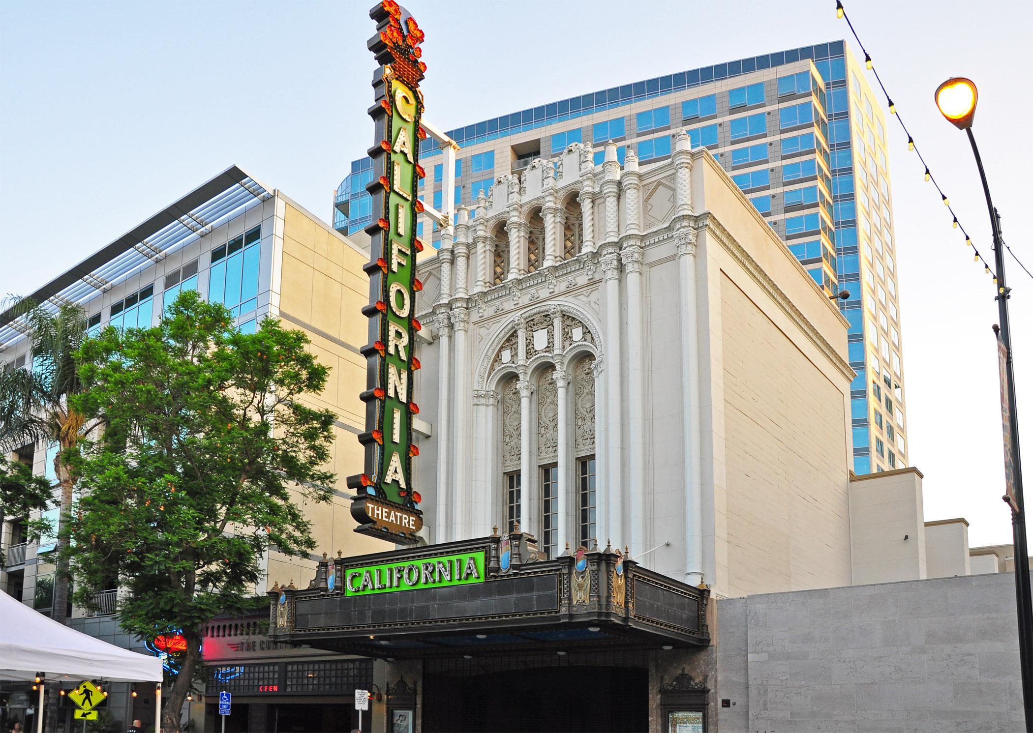 1. California Theater in San Jose