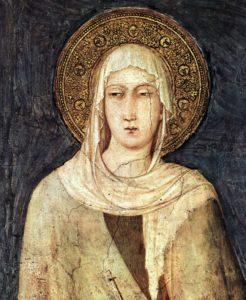 Клара Ассизская (1194-1253)
