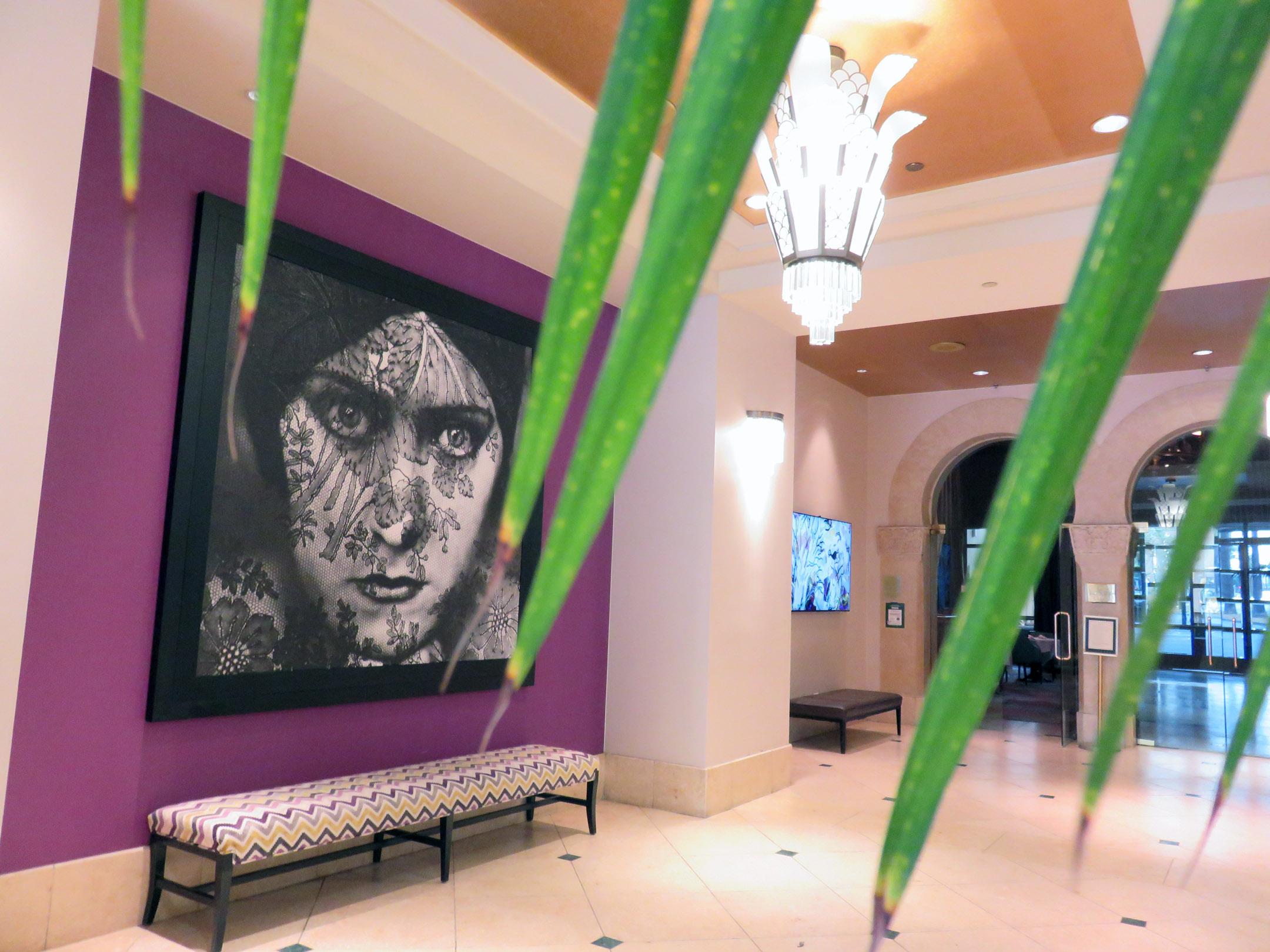 2. Hotel De Anza lobby