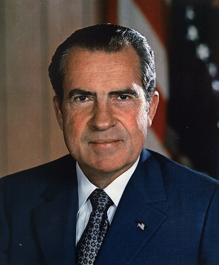 Президент Ричард М. Никсон
