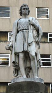 Памятник Христофору Колумбу в Нью-Йорке. Скульптор Эмма Стебингс
