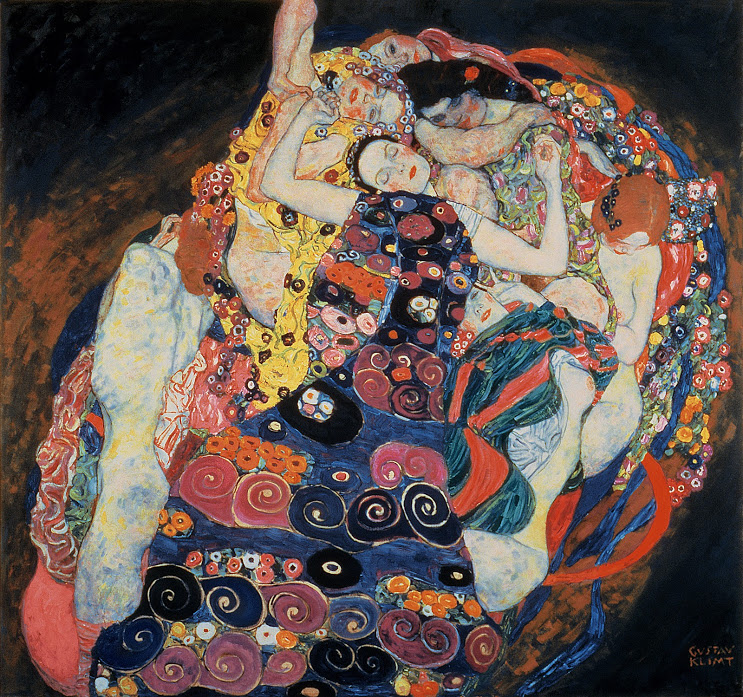 1. Klimt The Virgin