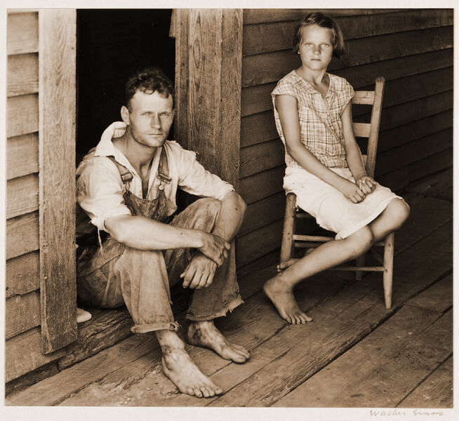 3. Walker Evans Floyd and Lucille Burroughs