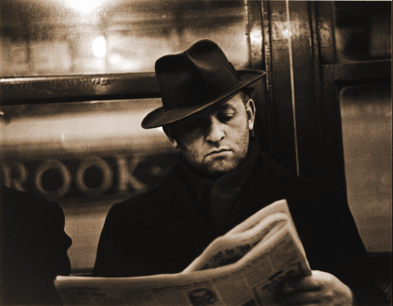 4. Walker Evans Subway Portrait