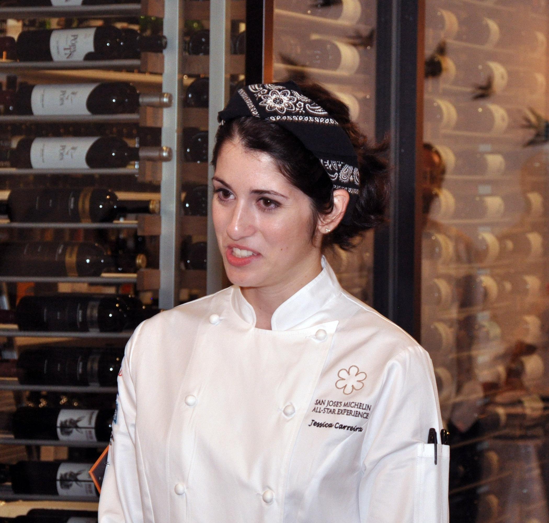 7. Adega chef Jessica