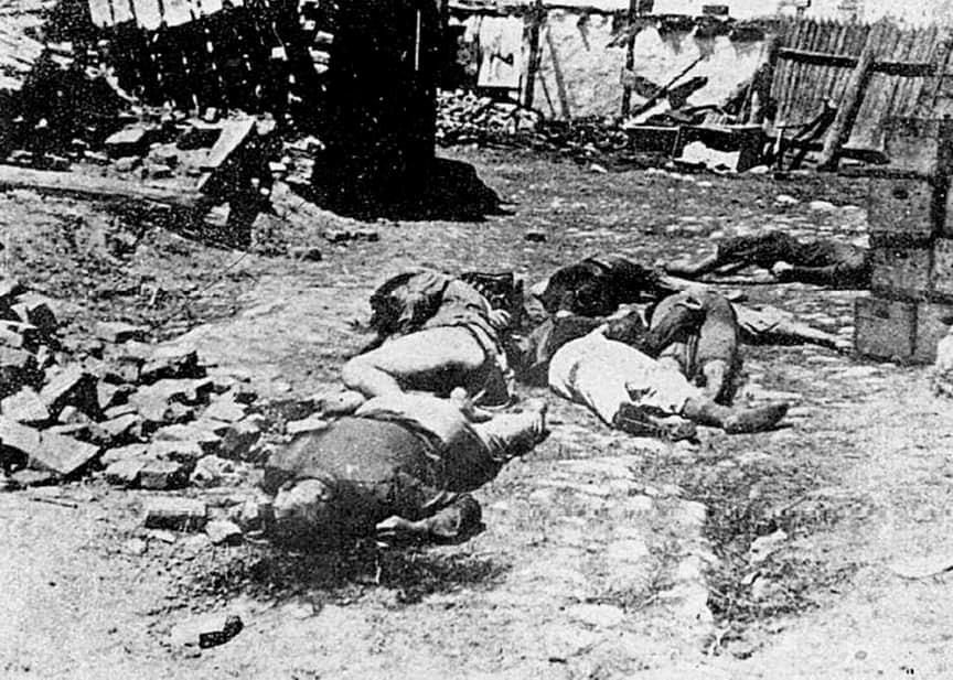 Одесские евреи, расстрелянные нацистами