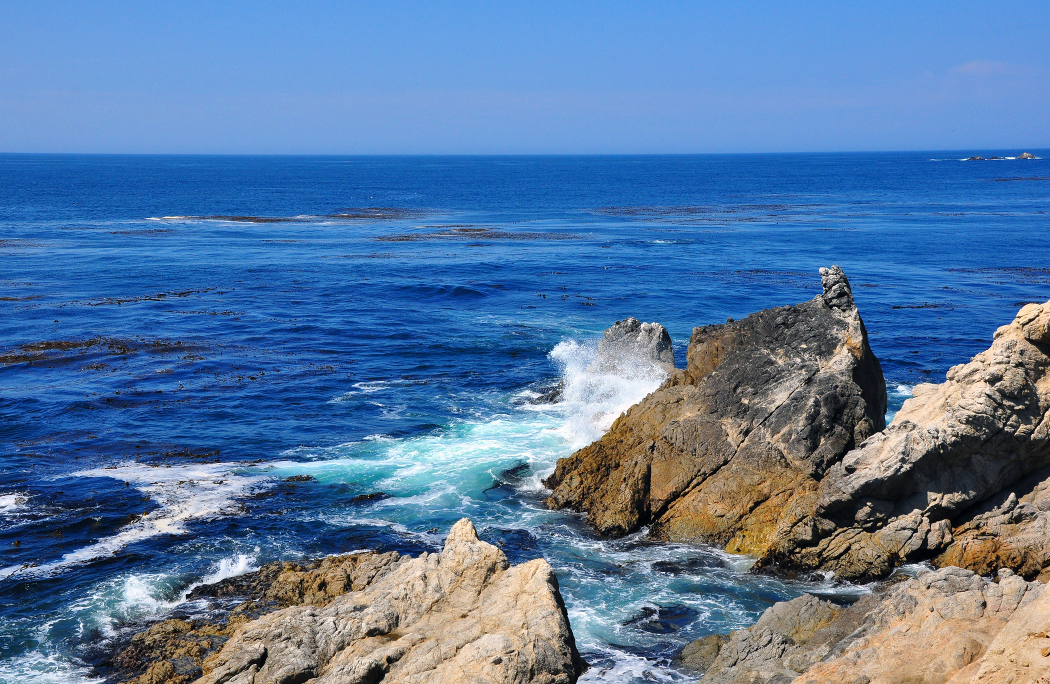 1. Cliffs in Monterey