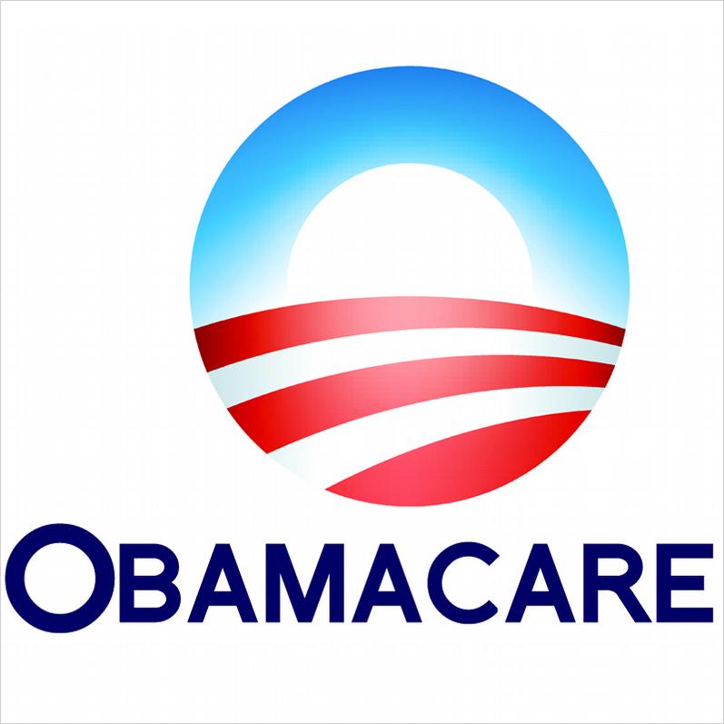 Obama care logo vector